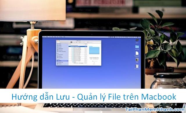 Hướng dẫn Lưu & Quản lý File trên máy tính Macbook