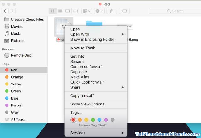 Hướng dẫn Lưu & Quản lý File trên máy tính Macbook + Hình 7