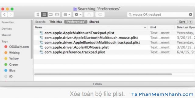Hướng dẫn khắc phục lỗi Laptop Macbook bị đơ chuột + Hình 7