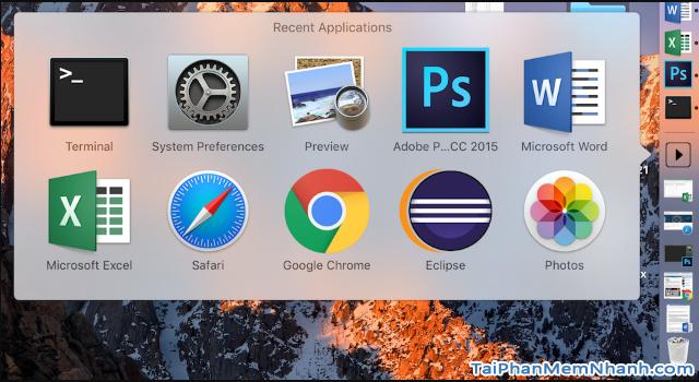 Vài thủ thuật hữu ích cần biết về hiệu ứng thanh Dock Macbook + Hình 6