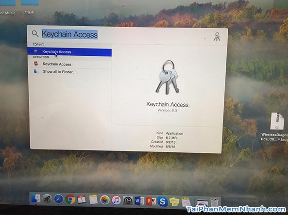 Hướng dẫn Bật - Tắt - Phát - Sửa Wifi cho máy tính Macbook + Hình 13