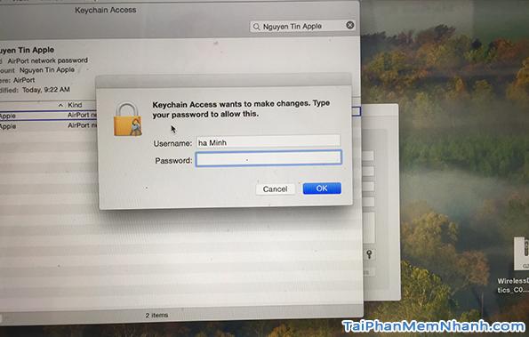 Hướng dẫn Bật - Tắt - Phát - Sửa Wifi cho máy tính Macbook + Hình 15