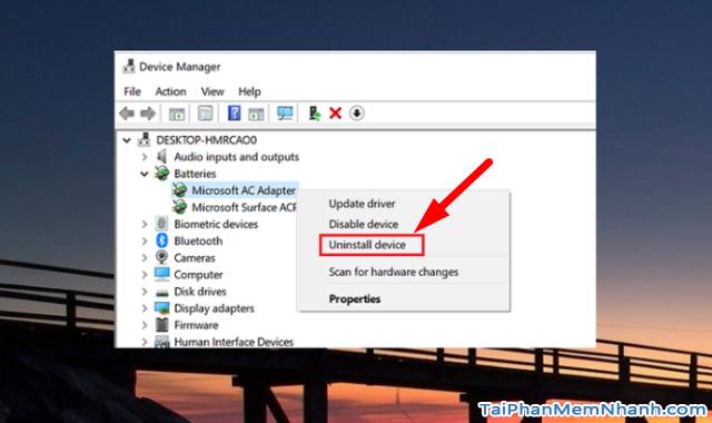 Hướng dẫn khắc phục lỗi laptop không nhận PIN trên Windows 10 + Hình 8