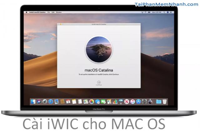 Tải iWIC Reset máy in Epson, Canon cho MAC OS
