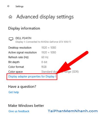 6 Cách khắc phục sự cố màn hình nhấp nháy trên Windows 10 + Hình 10