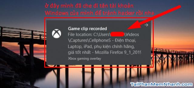 Cách quay màn hình máy tính Windows 10 bằng công cụ Game Bar + Hình 10