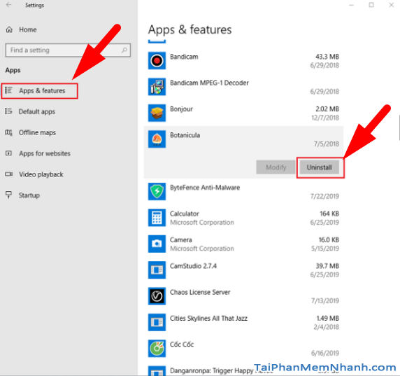 Cách gỡ cài đặt các ứng dụng không sử dụng trên Windows 10 + Hình 6