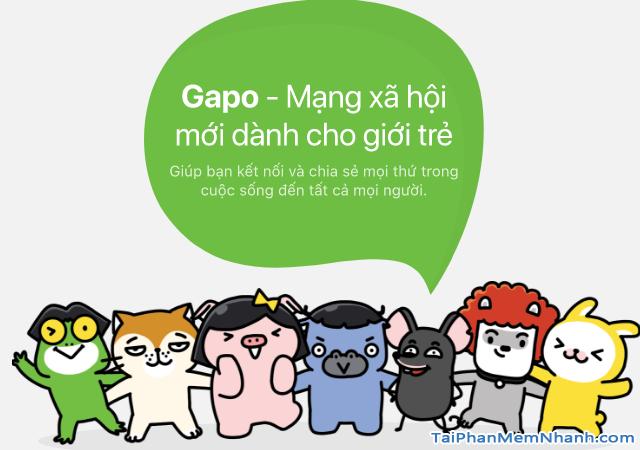 Tải và cài đặt Mạng xã hội Gapo cho điện thoại iPhone, iPad + Hình 3