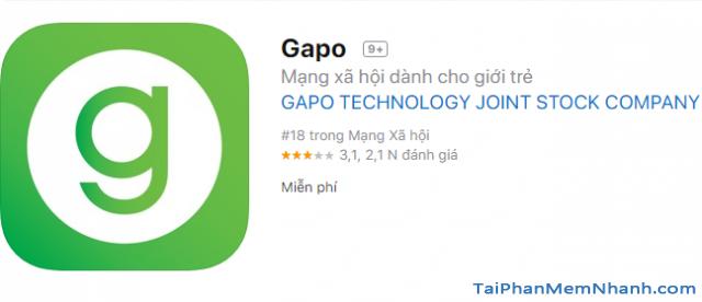 Tải và cài đặt Mạng xã hội Gapo cho điện thoại iPhone, iPad + Hình 9