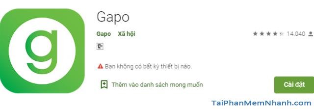 Tải và cài đặt Mạng xã hội Gapo cho điện thoại iPhone, iPad + Hình 10