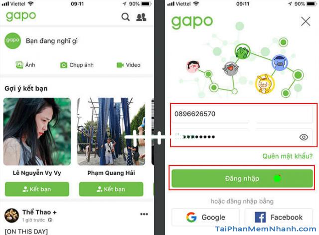 Tải và cài đặt Mạng xã hội Gapo cho điện thoại iPhone, iPad + Hình 21