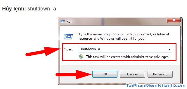 Hẹn giờ tắt máy tính Windows 10 bằng Lệnh và Phần mềm + Hình 12