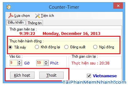 Hẹn giờ tắt máy tính Windows 10 bằng Lệnh và Phần mềm + Hình 19