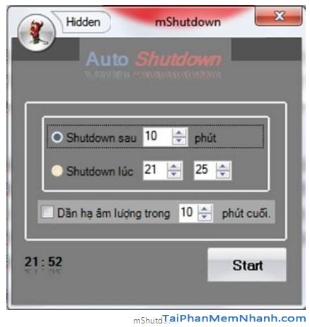 Hẹn giờ tắt máy tính Windows 10 bằng Lệnh và Phần mềm + Hình 20