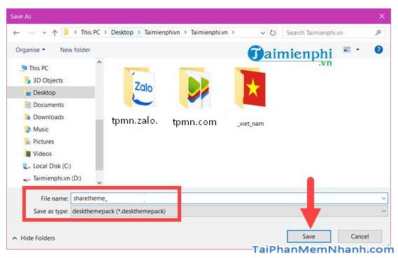 Thủ thuật lưu theme để chia sẻ trên Laptop Windows 10 + Hình 7