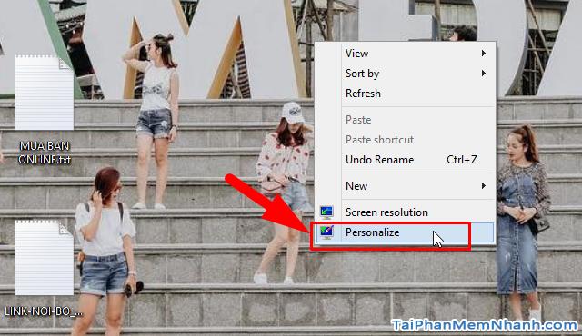 Hướng dẫn hẹn giờ đổi ảnh nền Windows 10 cho người mới + Hình 9