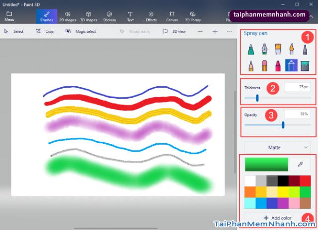 Hướng dẫn sử dụng Paint 3D trên Windows 10 cho người mới bắt đầu + Hình 5