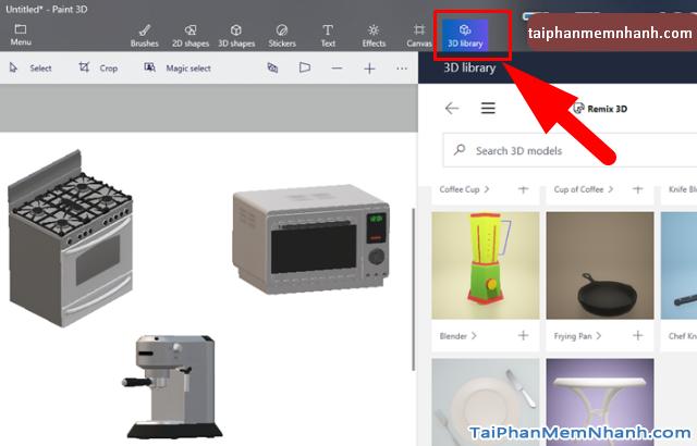Hướng dẫn sử dụng Paint 3D trên Windows 10 cho người mới bắt đầu + Hình 12