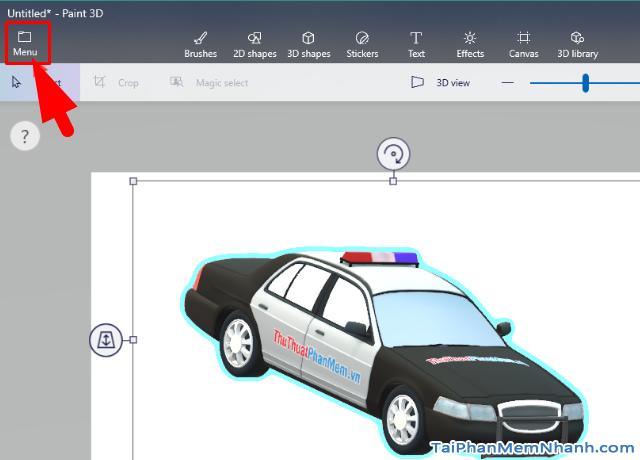 Hướng dẫn sử dụng Paint 3D trên Windows 10 cho người mới bắt đầu + Hình 13