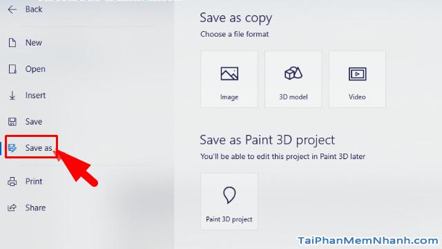 Hướng dẫn sử dụng Paint 3D trên Windows 10 cho người mới bắt đầu + Hình 14