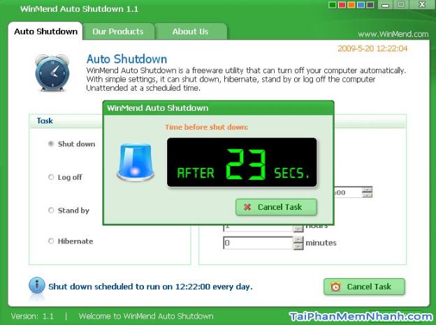 TOP 5 phần mềm hẹn giờ tắt máy tính chạy Windows 10 + Hình 7