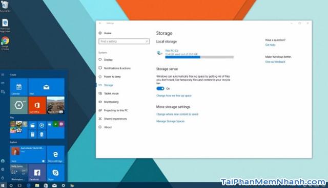 Tắt Storage Sense - Ngăn Windows 10 tự động xóa file + Hình 2