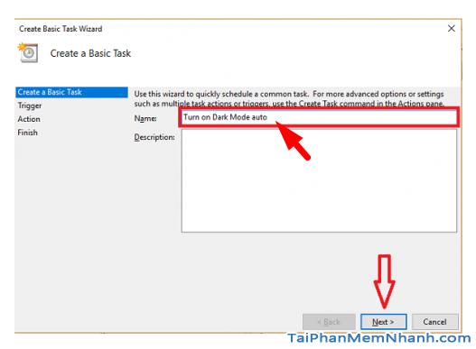 Hẹn giờ Windows 10 để tự động chuyển sang chế độ Dark Mode + Hình 9