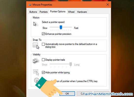 Hướng dẫn cách chỉnh tốc độ chuột trên Windows 10 + Hình 6
