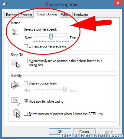 Hướng dẫn cách chỉnh tốc độ chuột trên Windows 10 + Hình 9