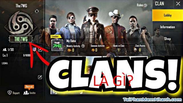 Cách mời bạn bè tham gia Clan trong game PUBG Mobile + Hình 2