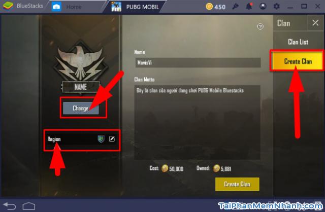 Cách mời bạn bè tham gia Clan trong game PUBG Mobile + Hình 4