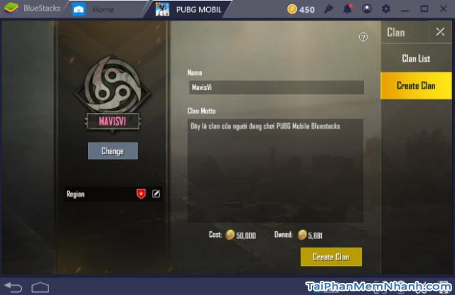 Cách mời bạn bè tham gia Clan trong game PUBG Mobile + Hình 6