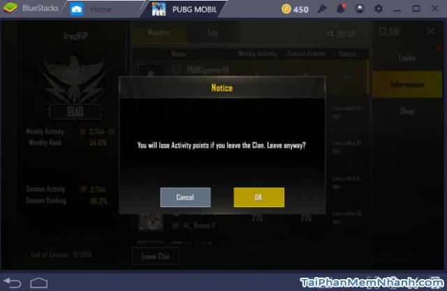 Cách mời bạn bè tham gia Clan trong game PUBG Mobile + Hình 12