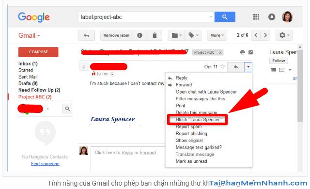Những tính năng ẩn thú vị trên Gmail mà bạn chưa biết + Hình 5