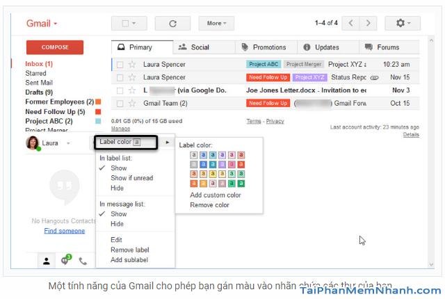 Những tính năng ẩn thú vị trên Gmail mà bạn chưa biết + Hình 10