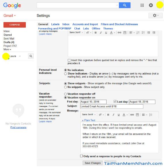 Những tính năng ẩn thú vị trên Gmail mà bạn chưa biết + Hình 11