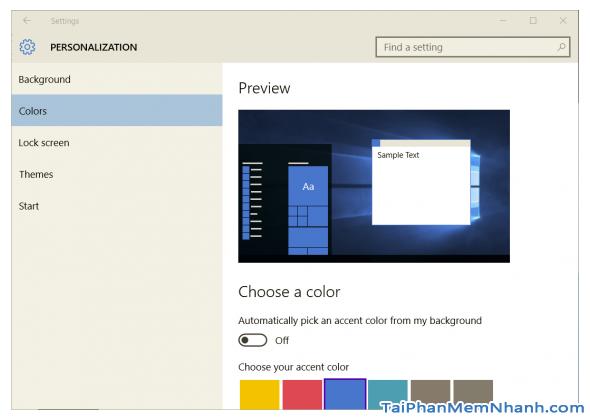 Hướng dẫn cách tạo theme Windows 10 của riêng mình + Hình 5