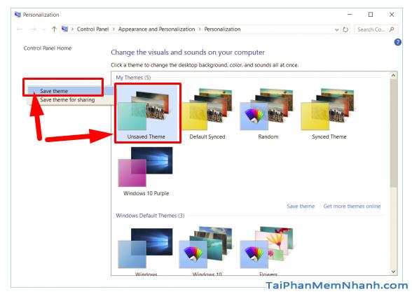 Hướng dẫn cách tạo theme Windows 10 của riêng mình + Hình 8