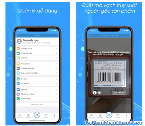 Tải phần mềm đọc mã vạch Barcode Việt cho điện thoại iOS + Hình 6