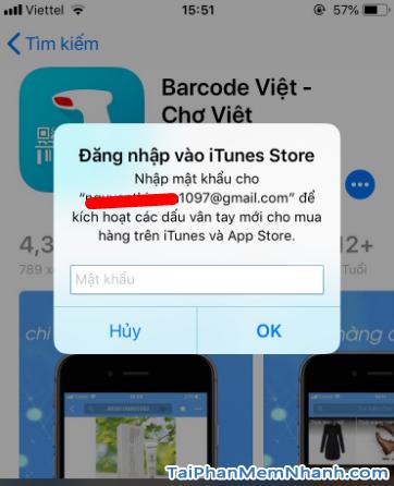Tải phần mềm đọc mã vạch Barcode Việt cho điện thoại iOS + Hình 13