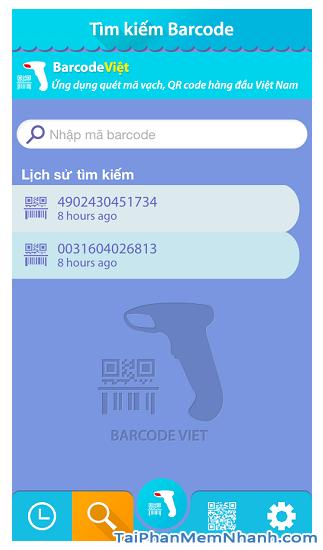 Tải phần mềm đọc mã vạch Barcode Việt cho điện thoại iOS + Hình 15