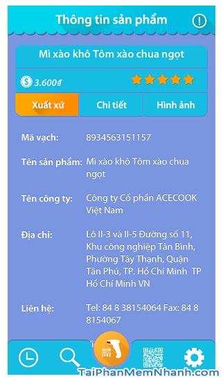 Tải phần mềm đọc mã vạch Barcode Việt cho điện thoại Android + Hình 5