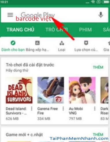 Tải phần mềm đọc mã vạch Barcode Việt cho điện thoại Android + Hình 8