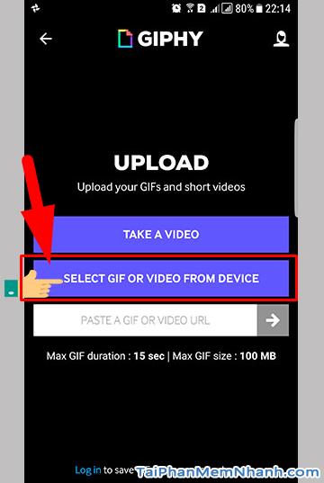 Hướng dẫn bạn cách đăng tải ảnh GIF lên Facebook + Hình 11