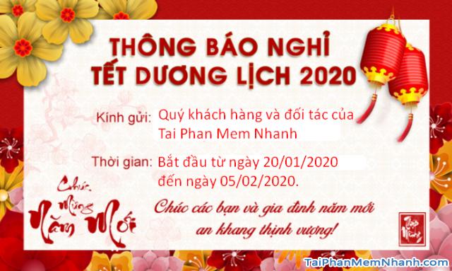Hướng dẫn tạo banner thông báo nghỉ Tết 2020 trực tuyến + Hình 6