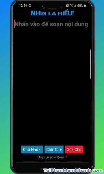 Tải cài đặt phần mềm Nhìn Là Hiểu cho điện thoại Android + Hình 2