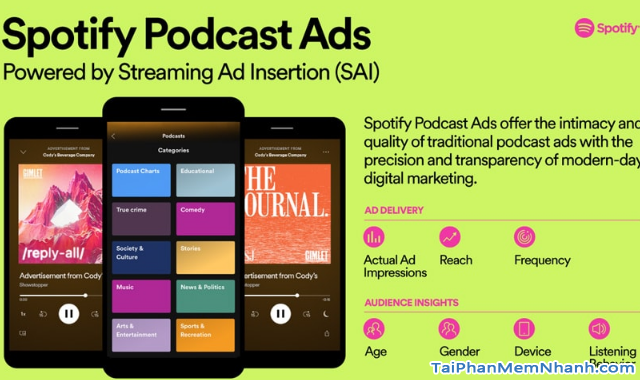 Spotify giới thiệu Chương trình chèn quảng cáo cho podcast + Hình 6