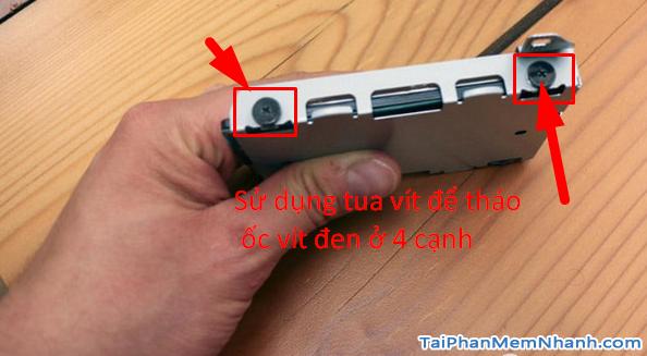 Cách cài ổ cứng SSD cho máy chơi game PS4 và PS4 Pro (Phần I) + Hình 10
