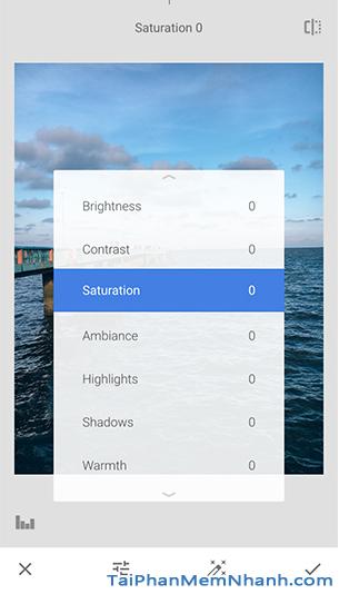 Những công cụ, bộ lọc bạn cần biết trên ứng dụng Snapseed + Hình 10