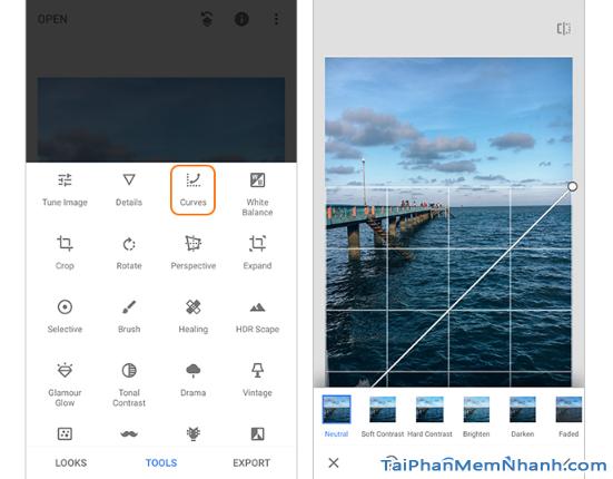 Những công cụ, bộ lọc bạn cần biết trên ứng dụng Snapseed + Hình 12